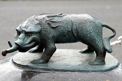 Sakaiminato mizuki shigeru road baku statue 1