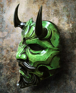 Black Oni Mask
