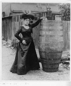 Barrel and rider