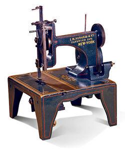 Isaac Singer's Sewing Machine   Warehouse 13 Artifact
