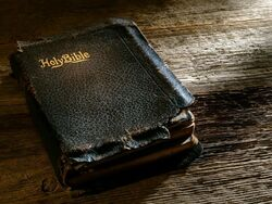 Earle Nelson's Worn Bible