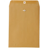 Full 0129 Manilla Clasp Open End Envelopes