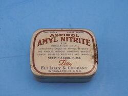 Amyl nitrite pills