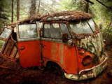 Charles Manson's VW Bus