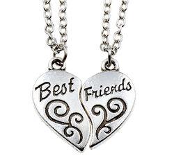 Foreign-trade-fashion-best-friend-friendship-font-b-heart-b-font-shaped-Necklaces-font-b-Broken