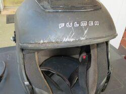 Harry Hurt's Helmet