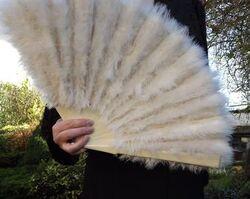 Anna Pavlova's Swan-Feather Fan