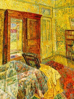 Interior in Yellow by Grace Cossington Smith