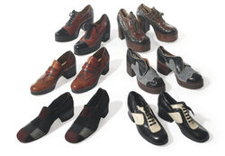 J Brown shoe collection