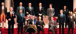 Disenry~animatronic presidents