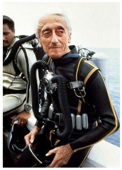 Jacques Cousteau's Diving Suit