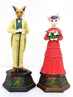 Baron and Louise Statues
