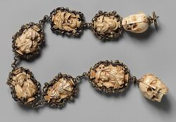 Rosary ivory german