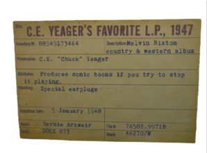 Yeager card