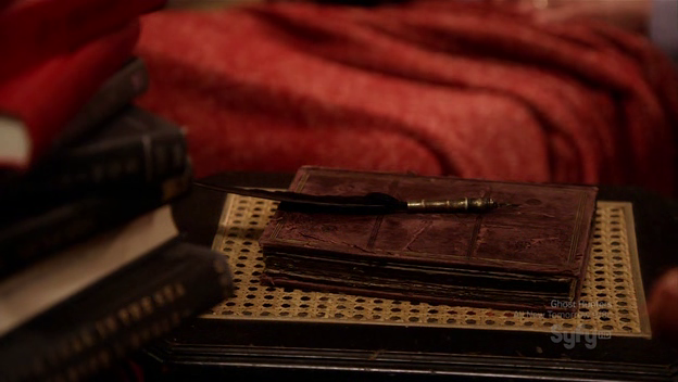 File:Edgar Allan Poe's Quill Pen and Notebook.png