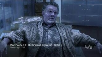 """Warehouse 13"" - Staffel 5 trailer"