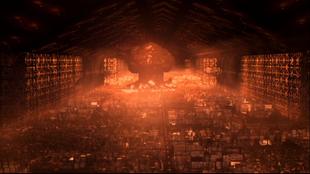 Explosion de l'entrepôt