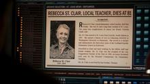 Rebecca article de Presse
