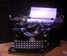 Sylvia Plath's Typewriter