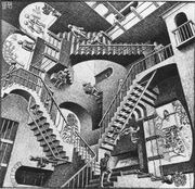 Escher Relativity Original