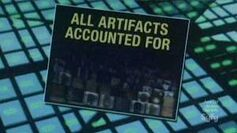 All artifacts accounted for