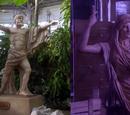 Statues of Zeus and Hera