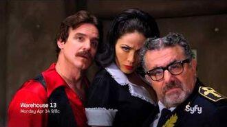 Warehouse 13 Season 5 Coming April 14 at 9 8c