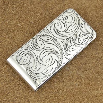 File:212252 1554MC 1000655 Custom Made Engraved Silver Old Western Money Clip by Jackson.jpg