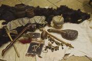 Lenape artifacts woodland