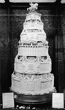 queen victoria wedding cake artifacts warehouse 14 s wedding cake 6932