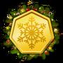 Challenge badge xmas 03