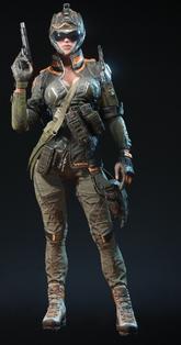 Black Widow Engineer Skin