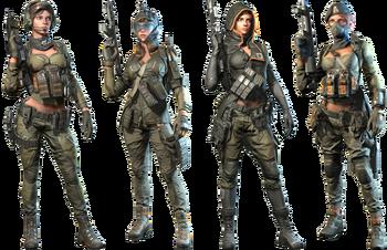 Black Widow Skin