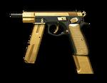 황금 CZ 75-Auto Render