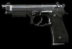 Beretta M9 Render