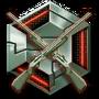 Challenge badge weapon25 40