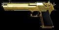 황금 Desert Eagle Render