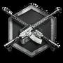 Challenge badge weapon10 25