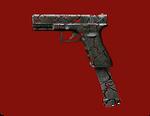 Glock 18C Magma Render