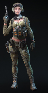 Black Widow Rifleman Skin