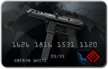 TEC-9 Black Market Card