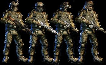 Paragon Squad Skin