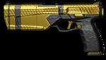 황금 Maxim 9 Render