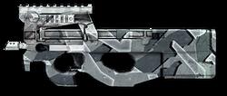 FN P90 겨울 위장 Render