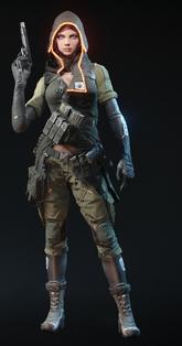 Black Widow Sniper Skin