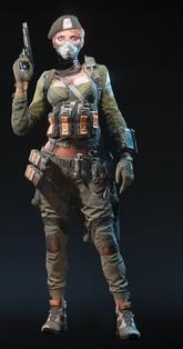 Black Widow Medic Skin
