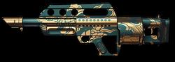 Jackhammer Jade Dragon Render