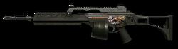 H&K MG36 Halloween Render