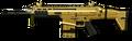 Золотой FN SCAR-H Render