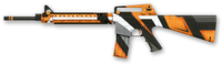 Open cup skin m16a3